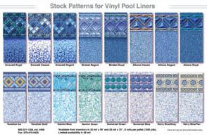 custom vinyl pool liner designer
